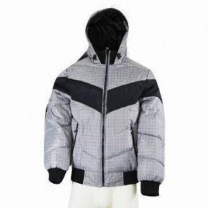 Quality Men's winter jacket, water-repellent, classic wholesale