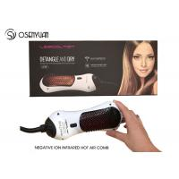 Quality Electric Power Infrared Hair Dryer Brush 50/60Hz With 360 Degree Swift Cord wholesale