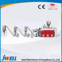 China SJZ series counter rotation conical twin-screw pelletizing extruder on sale