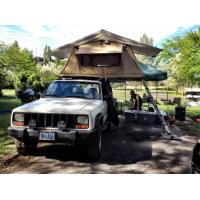 Quality Family Travel Off Road Roof Top Tent Tear Resistant With High Density Foam Mattress wholesale