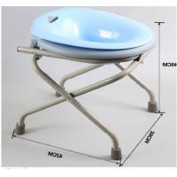 Quality One Click Folding Common Sitting Adjustable Bath Seat High Carbon Steel Squat Free wholesale