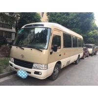 Quality 2012 Year 19 Seats Used Toyota Coaster 2TR Gas Engine Simple Style Appearance wholesale