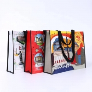 China Reusable PP Woven Shopping Bag on sale