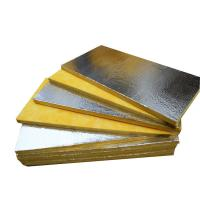 Quality Foil - Faced Glass Wool Roll Soundproof Insulation For Metal Building Insulation wholesale