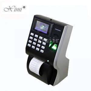 Quality Thermal Printer Biometric Time Attendance Machine , LP400 Time Clock Machine wholesale