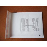 Buy cheap 1# kraft paper bubble envelope bag 120*175 printing CN22 international packet from wholesalers