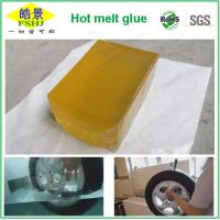 Quality Yellow Transparent Hot Melt Pressure Sensitive Adhesive For Transport Industry wholesale