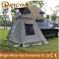 Quality 4x4 manufacturer waterproof car roof top tent / 260G ripstop canvas  auto roof tent wholesale
