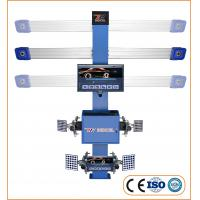 China High efficiency Auto-trucking 3D Car Wheel Aligner With Double LCD on sale