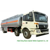 Quality FOTON 6x2 AUMAN 25000L Oil Tanker Truck With Stainless Steel Fule Tank wholesale