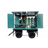 China Remove Acid Mobile Oil Purifier / Transformer Oil Purification Plant 6000 Liters / Hour on sale