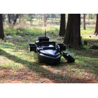 Quality Black radio controlled bait boat ABS engineering plastic hull boat OEM / ODM wholesale