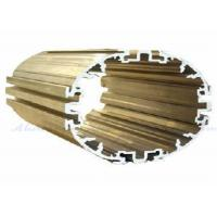 Quality Powder Coating Aluminum Extrusion Profiles T5 - T6 Temper For Motor Housing wholesale