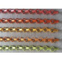 Quality China Manufacture Anodized Fly Screen Door Chain Link Curtains wholesale