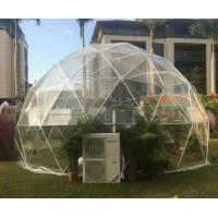 Quality UV - Treated Clear Camping Tent Half Sphere Geodesic Dome Wedding Tent wholesale