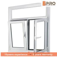Quality Adjusting Tilt And Turn Aluminium Windows With Screens Swing Open Style wholesale