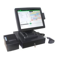 China 15 inch High Quality Registive Touch Screen Pos Machine with cheap price Cash Register Pos system on sale