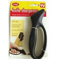 Cheap FDA Disposable Kitchen Knife Sharpener Black With Handle 16 * 5.5cm for sale