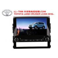 Quality 9 Inch Car DVD Player GPS Navigation for TOYOTA LAND CRUISER LC200 2016- WINCE or Android System wholesale