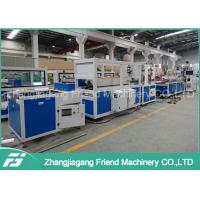 China Automatic PVC Ceiling Panel Extrusion Line With Simens Motor Brand 380V 50HZ on sale