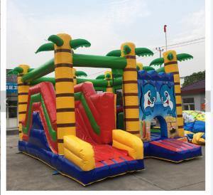 Quality Cartoon Print Inflatable Amusement Park Commercial Bouncy Jumping Castle wholesale
