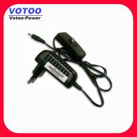 Cheap Light Weight Power Switching Power Adapter 220v Ac To 12v 1000ma 9Watt for sale