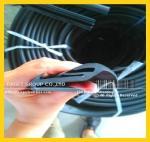 Windshield rubber;glazing seal