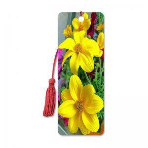 Quality Flower Design Souvenir 3D Lenticular Bookmark / 3D Lenticular Printing wholesale