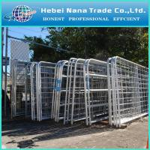 Quality Hot-dip Galvanized Iron Farm Gate designs / low price galvanized farm iron gate designs wholesale