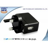 Quality Black White Bright Black 100-240V 5V 500mA USB Wall Charger for Audio Equipment wholesale