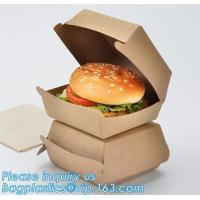 China Custom,food grade and good printing shipping humberger box for sale,Paper bag for bread or cake or humberger bagease pac on sale