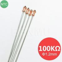 China MGB12 100K 1% 3950 Small glass NTC Thermistor thermal resistor for temperature sensor in Air-conditioner+3D printer Heat on sale