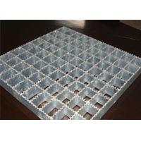 Quality Powerful Open Steel Floor Grating , Anti Corrosion Welded Steel Bar Grating wholesale