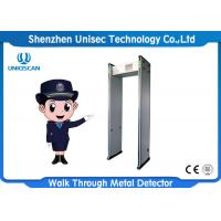 Quality High Security Walk Through Metal Detector UB800 With 7 Inch LCD Screen wholesale
