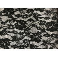 Cheap Beauty Chemical Lace Fabric / Cupion Lace Fabric With Polyester / Cotton Material for sale