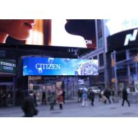 Cheap P10 P16 High Resolution Outdoor LED Billboard / LED Advertising Screens for sale