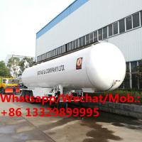 Quality hot sale CLW New lpg transport trailer / new lpg transport truck tanks/lpg transport tank semi trailer for sale wholesale