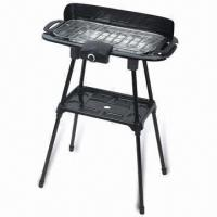 China Electric BBQ Grill with Food Plate and Indicator Light, Measures 560 x 370 x 820mm on sale