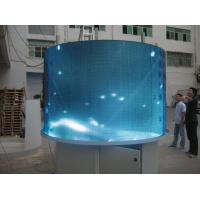 Quality Pixel 546 2 R1G1B Full Color Video Curved Led Board Display For Advertising wholesale