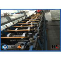 Quality CNC Shelving / storage rack Sheet Metal Roll Forming Machines With Anti Rust Roller wholesale