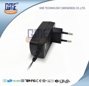 Quality GME Intertek 12v Power Adapter EU Plug 100% Full Load 63X39X52.5 mm wholesale