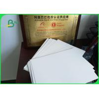 210 - 350g C1S Single Side Coated Ivory Board Paper For Album / Calendar