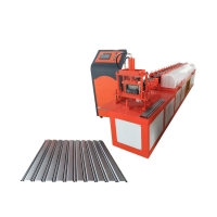 China aluminium shutter door section roll forming machine shutter slat door & window section roll forming machine on sale