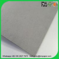 Quality Paper mill supply 230 250 300gsm grey back cardboard paper wholesale
