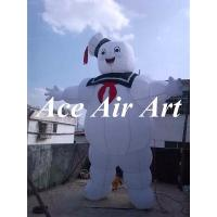 China custom giant 4 m H stay puft marshmallow man inflatable for advertising on sale