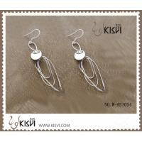 Buy cheap 925 sterling silver & zircon gemstone earrings with competitive price W-AS1054 from wholesalers