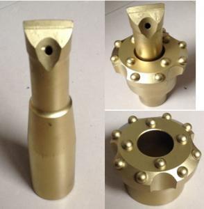Quality Taper 6/12 Degree Drill Reamer Bit Diameter 64 - 89mm YK05 Carbide Material wholesale