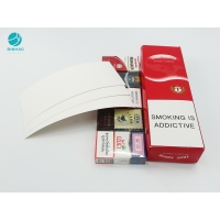 China Custom Disposable Durable Paper Box Cardboard Cases For Cigarette Packaging on sale