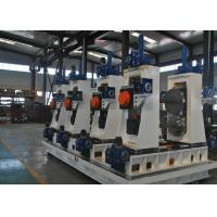 Quality Full Automatic Square Tube Mill Line ERW Pipe Making Machine 30-80m/min wholesale