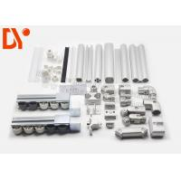 Buy cheap Industrial Cold Rolled Lean Metal Pipe Connectors For ESD Workbench / Work Table from wholesalers